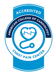 Evanston Regional is an Accredited Chest Pain Center